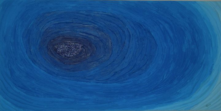 The Blue Pool - Harold Tanner