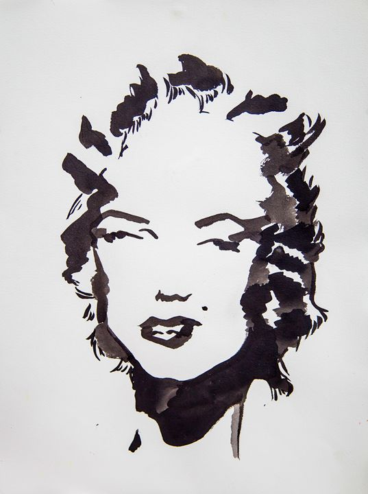 Marilyn Monroe 1 - RenelyArt