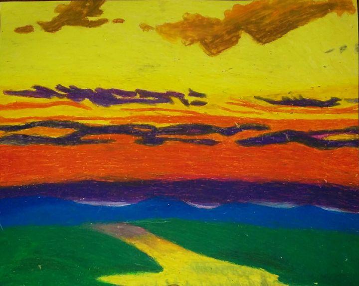 Pastel Landscape - onebigmilestone