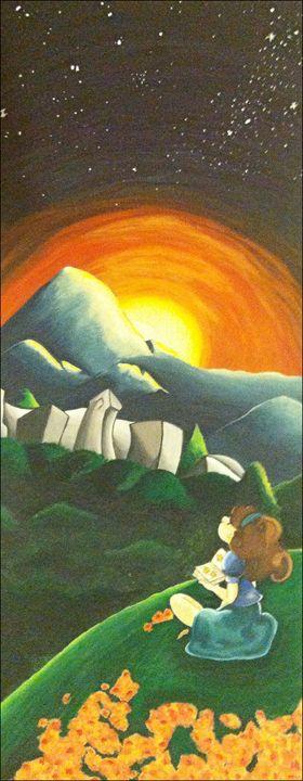 Starry sunset - HattiesGallery