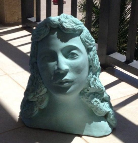 "Sea Goddess Within You 12"" Turquoise - beach decor treasures"