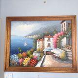 Mediterranean painting by Rossini