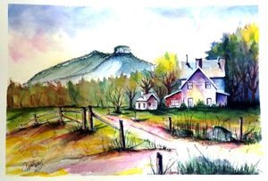 Pilot Mountain North Carolina SOLD