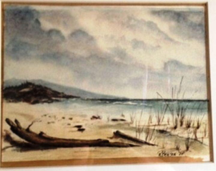 SOLD - Richard Benson's Watercolors