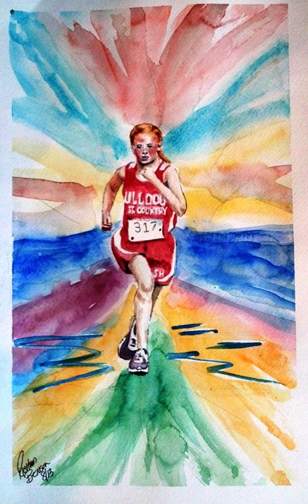 SARAH CROSS COUNTRY NFS - Richard Benson's Watercolors