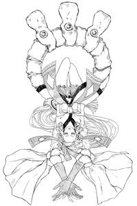 Onmyoji Fanart (manga style) 600dpi