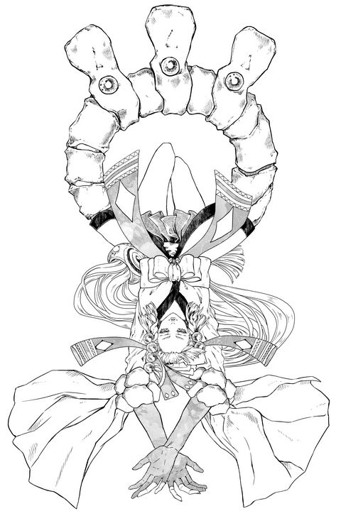 Onmyoji Fanart (manga style) 600dpi - Mae_ko3