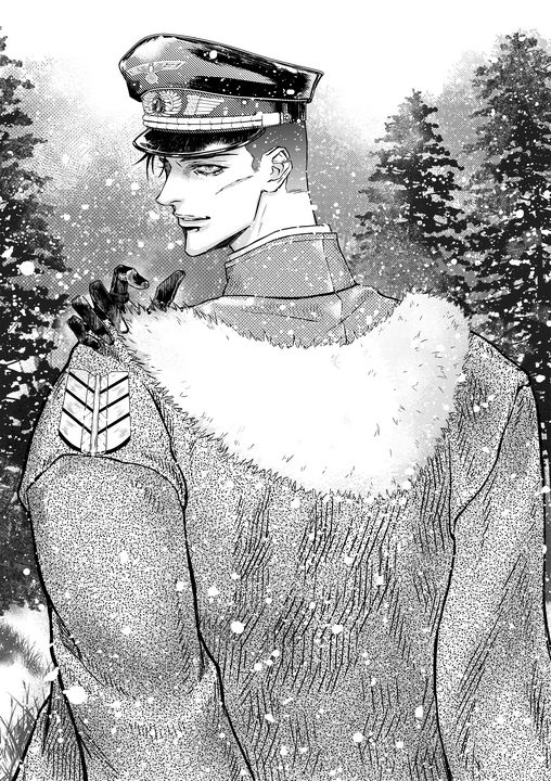 German soldier (manga chapter cover) - Mae_ko3