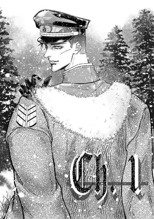 German soldier(manga chapter cover2) - Mae_ko3