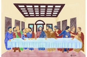 The Last Supper - Monvis