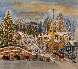 Christmas winter scenery - Monvis