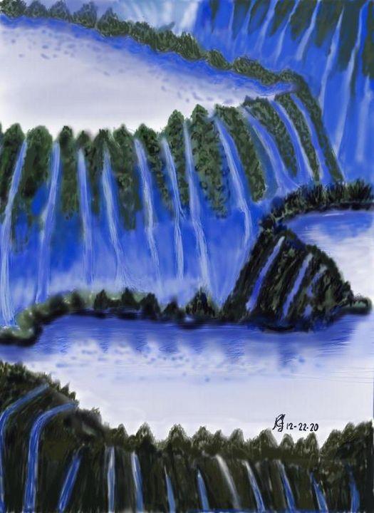 Bluewater falls - Monvis