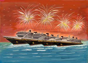 Disney Cruise Fleet