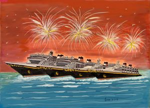 Disney Cruise Fleet - Monvis
