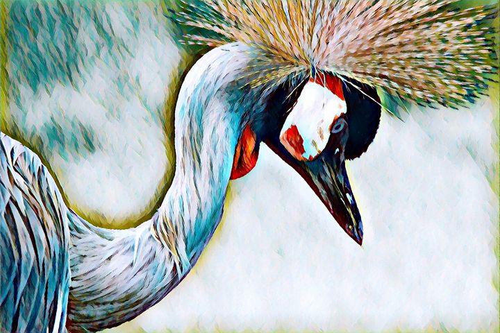 Crane Wildlife Print - Rogue Art