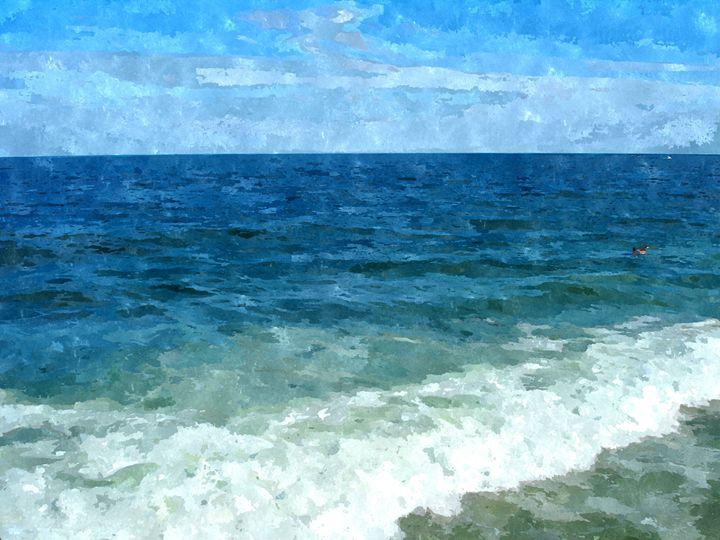 Beach Waves - Rogue Art