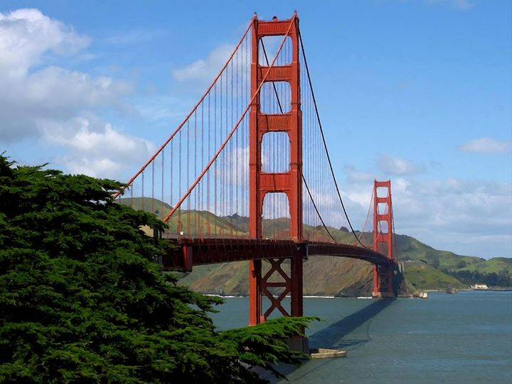 Golden Gate Bridge San Francisco Cal - Rogue Art