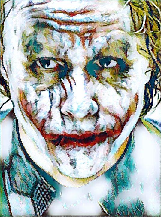 The Joker - Rogue Art