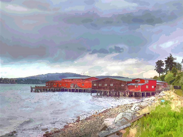 Coastal Landscape - Rogue Art
