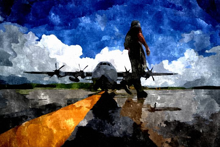 US Air-force Runway - Rogue Art