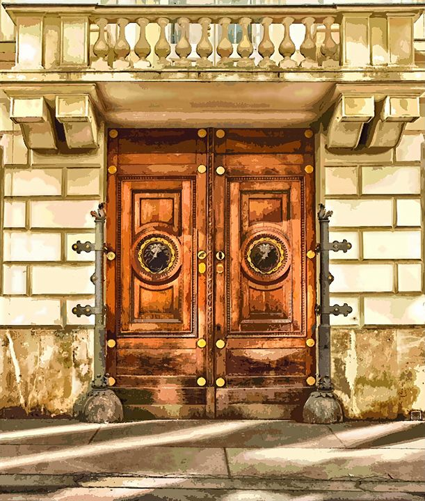 Vienna Austria Door - Rogue Art