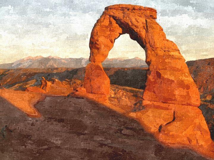 Arch National Park Utah - Rogue Art