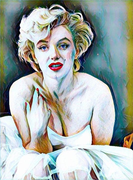 Marilyn Monroe Actress - Rogue Art