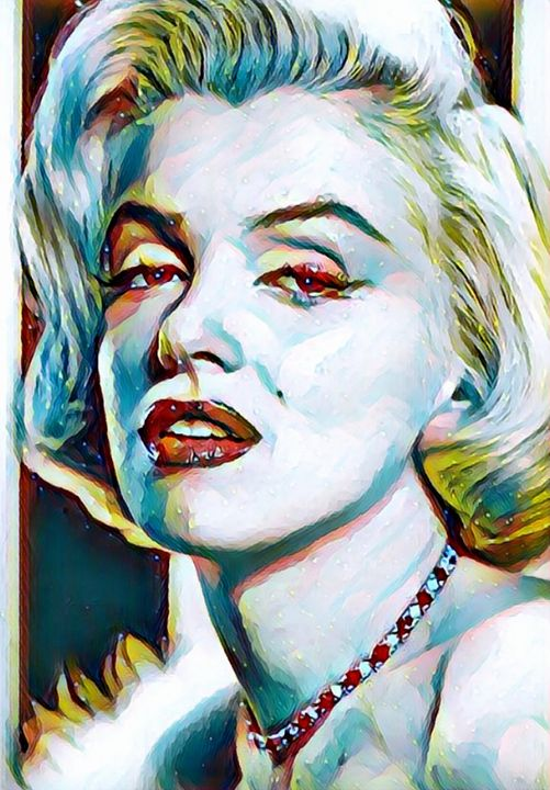 Marilyn Monroe Portrait - Rogue Art