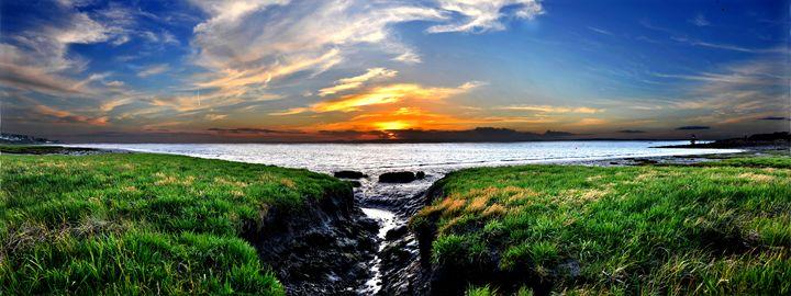 Bristol Channel Sunset - Adrian Gaynor Photography