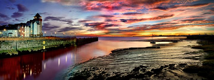 Portishead Sunrise - Adrian Gaynor Photography