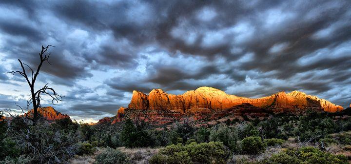 Sedona Sunset - Adrian Gaynor Photography