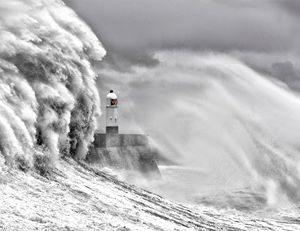 Porthcawl Storm 1