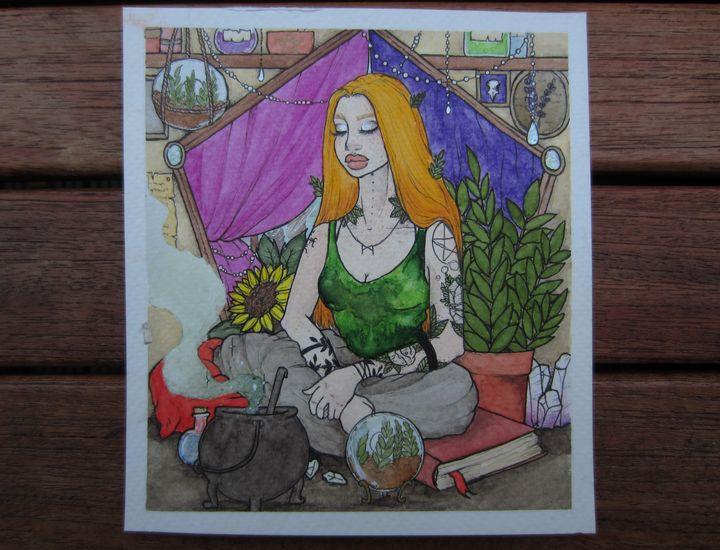 Serenity - Nina von Moria Art