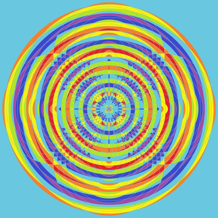 Special lantern geometric art print - Art Geometrix