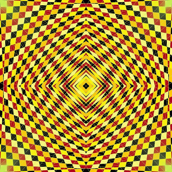 Mansion attitude geometric art - Art Geometrix