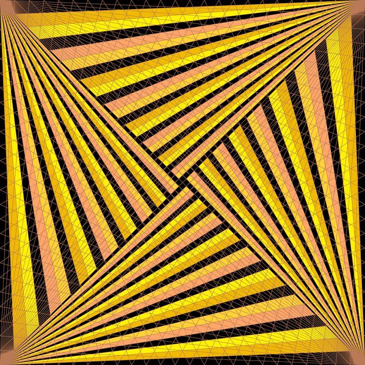 In the spotlight geometric art print - Art Geometrix