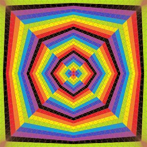Order from chaos geometric art print