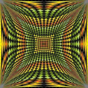 Frame of beauty geometric art print