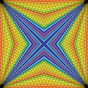 Extremities geometric art print