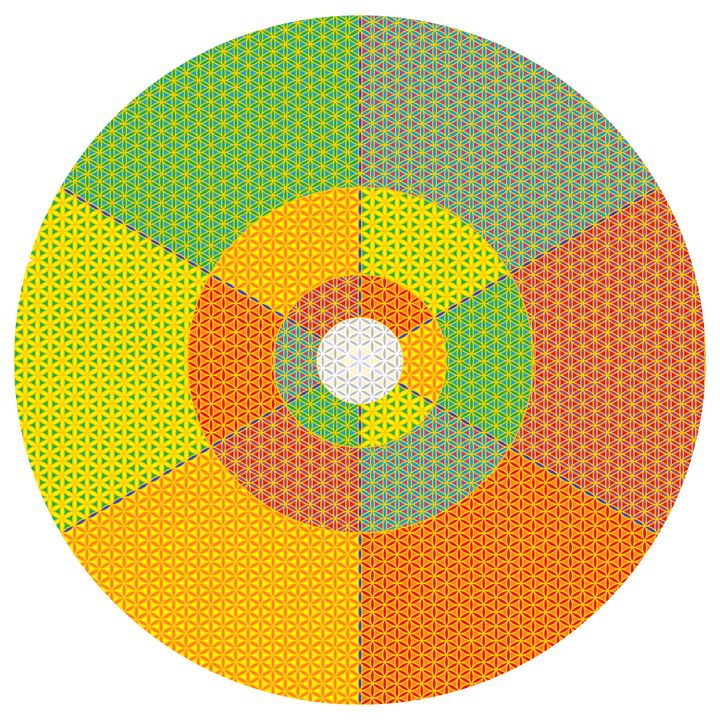 Strong suggestion geometric art - Art Geometrix