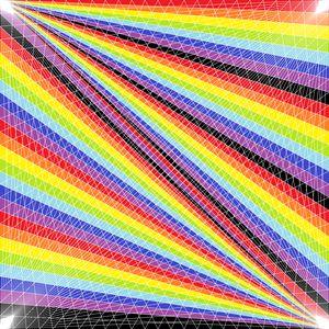 Fold in time geometric art print