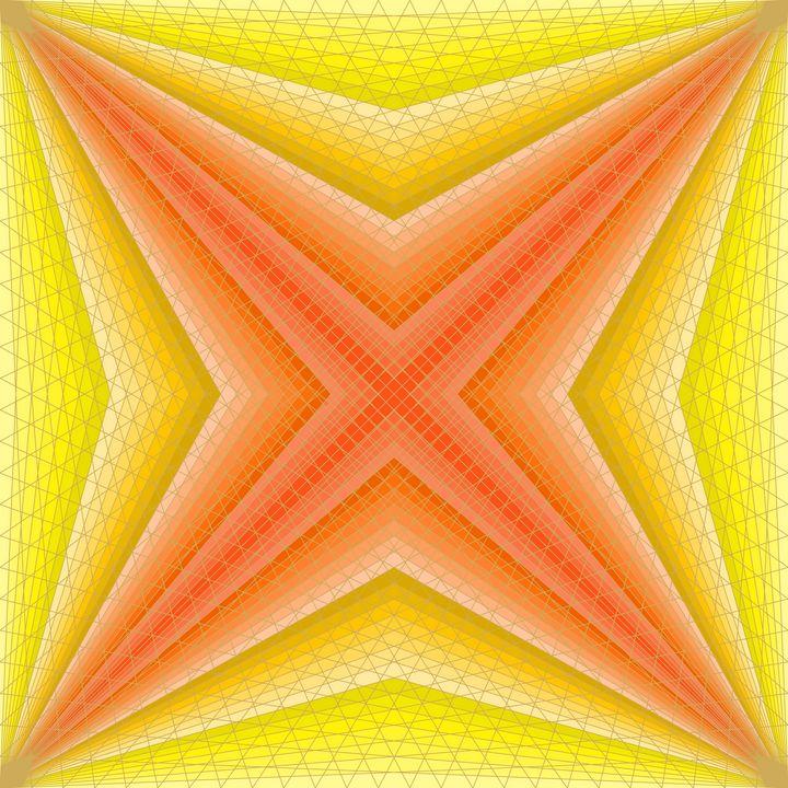 Upon a star geometric art print - Art Geometrix