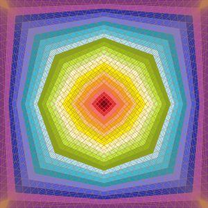 Octagon dream geometric art print