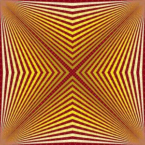 Speciality geometric art print