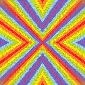Supreme dream geometric art print