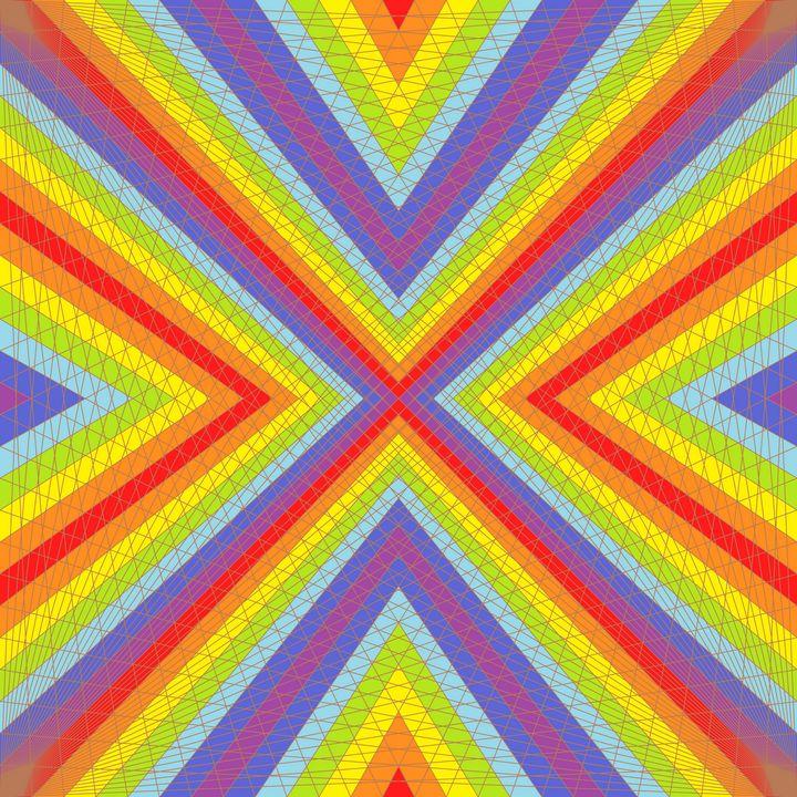 Supreme dream geometric art print - Art Geometrix