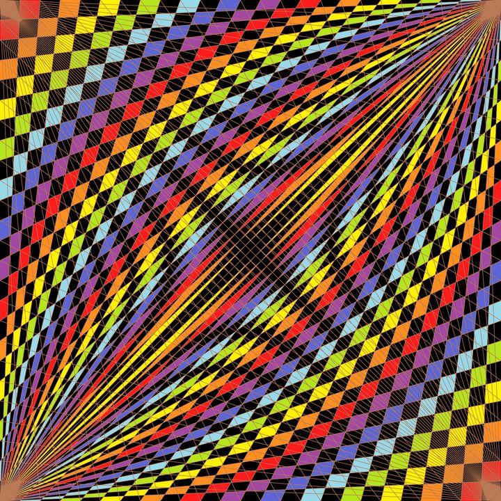 Dashboard geometric art print - Art Geometrix