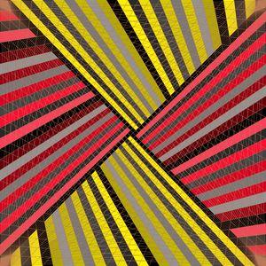 Lines of mastery geometric art print