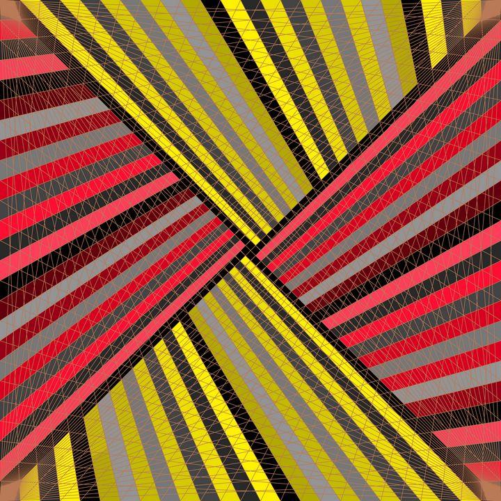 Lines of mastery geometric art print - Art Geometrix