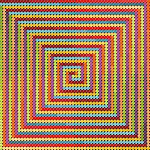 Light em up geometric art print